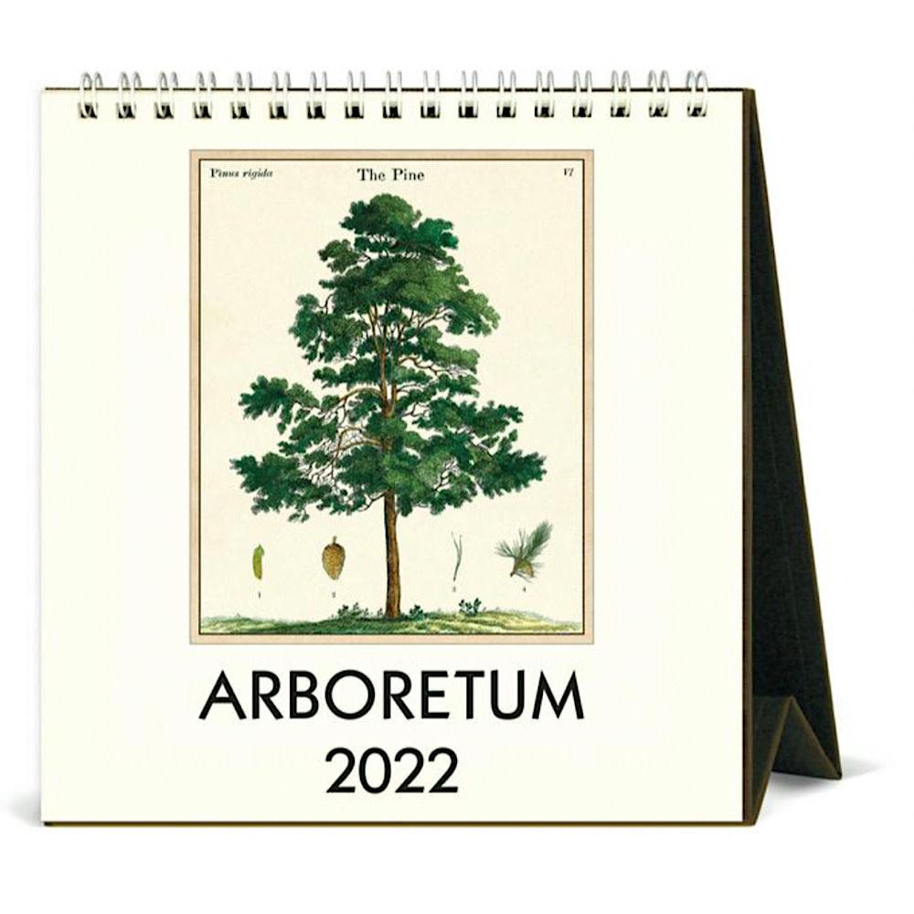 Cavallini Desk Calendar - Arboretum 2022