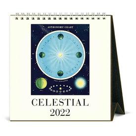 Cavallini Papers & Co., Inc. Cavallini Desk Calendar - Celestial 2022