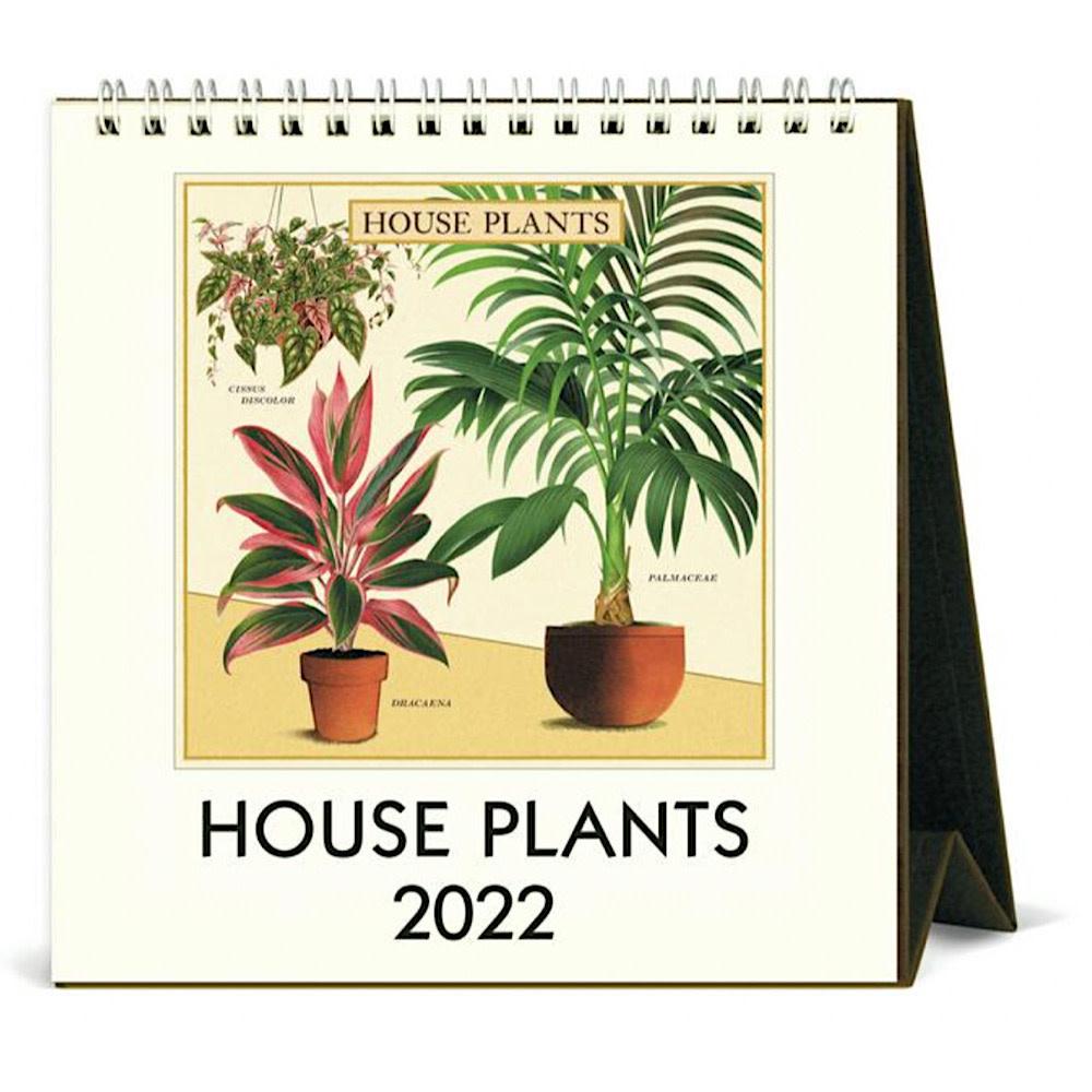 Cavallini Papers & Co., Inc. Cavallini Desk Calendar - House Plants 2022