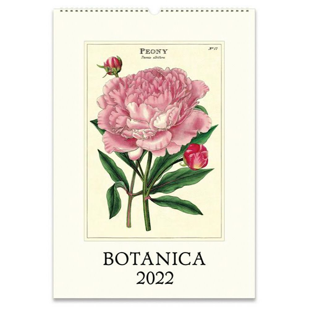 Cavallini Wall Calendar - Botanica 2022