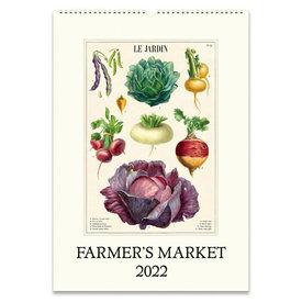 Cavallini Papers & Co., Inc. Cavallini Wall Calendar - Farmer's Market 2022