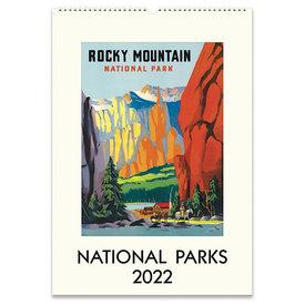 Cavallini Papers & Co., Inc. Cavallini Wall Calendar - National Parks 2022