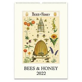 Cavallini Papers & Co., Inc. Cavallini Wall Calendar - Bees & Honey 2022