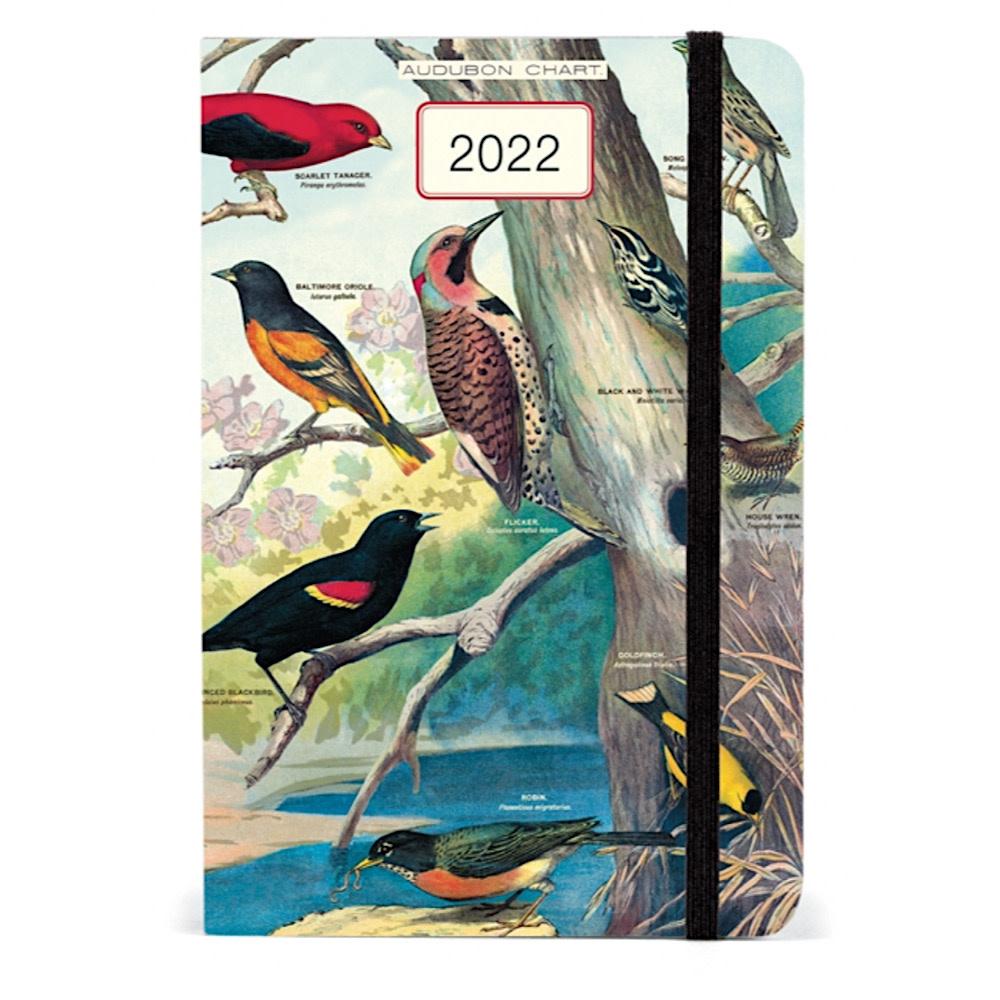 Cavallini Weekly Planner - Audubon Birds 2022