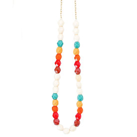 Nest Pretty Things Nest Pretty Things - Southwest Bead Necklace - Sunrise