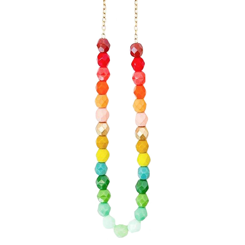 Nest Pretty Things Nest Pretty Things - Southwest Bead Necklace - Ombre