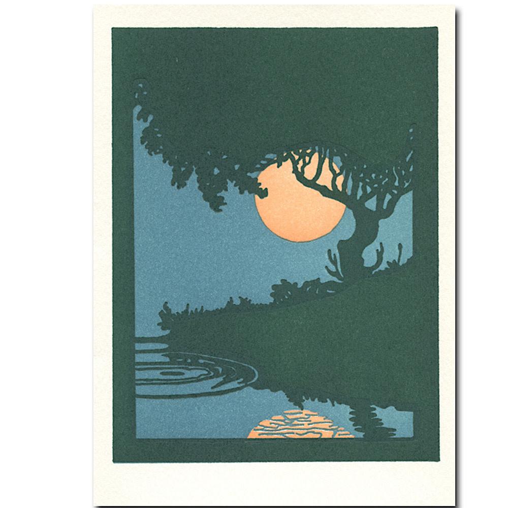 Saturn Press Summertime Card