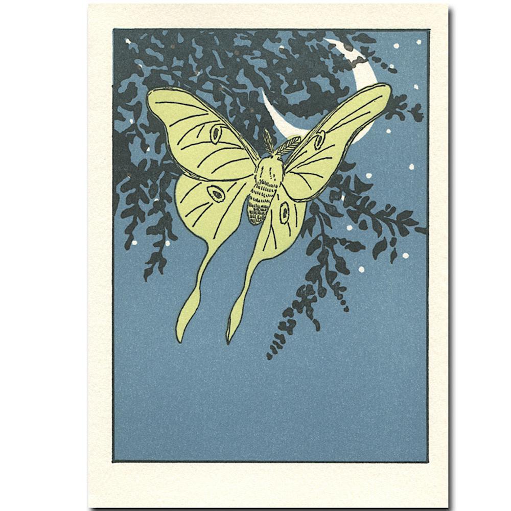 Saturn Press Luna Card