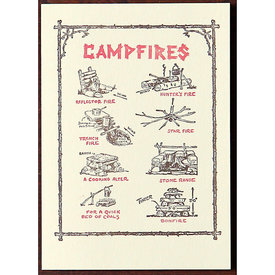 Saturn Press Saturn Press Campfires Card