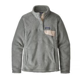 Patagonia Patagonia Womens Re-Tool Snap-T Pullover - Tailored Grey Nickel  X-Dye