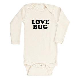 Tenth & Pine Tenth & Pine Long Sleeve Bodysuit - Love Bug - Black