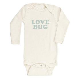 Tenth & Pine Tenth & Pine Long Sleeve Bodysuit - Love Bug - Sage