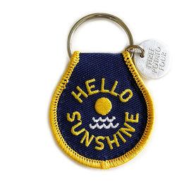 Three Potato Four Three Potato Four Patch Keychain - Hello Sunshine