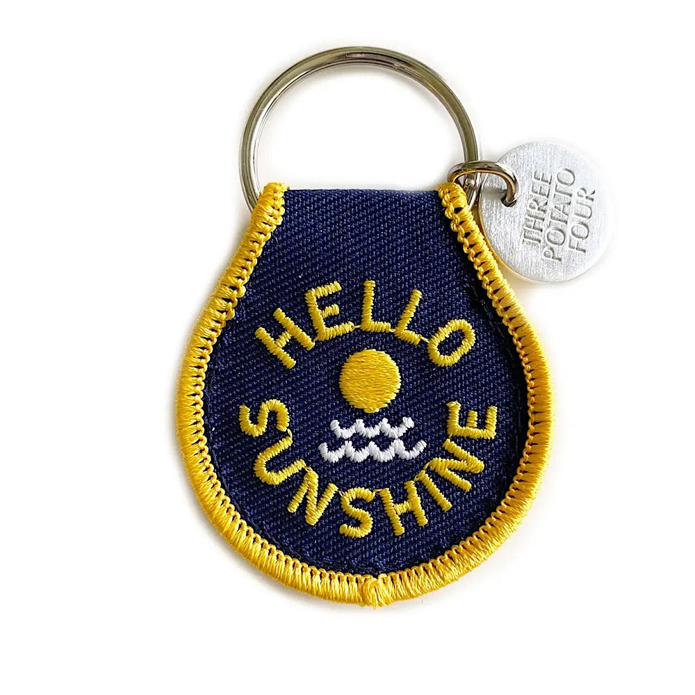 Three Potato Four Patch Keychain - Hello Sunshine