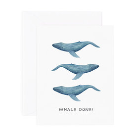 Amy Zhang Amy Zhang Card - Whale Done Congrats