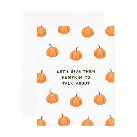 Amy Zhang Amy Zhang Card - Pumpkin To Talk About