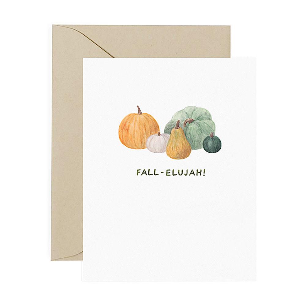 Amy Zhang Card - Fall-elujah