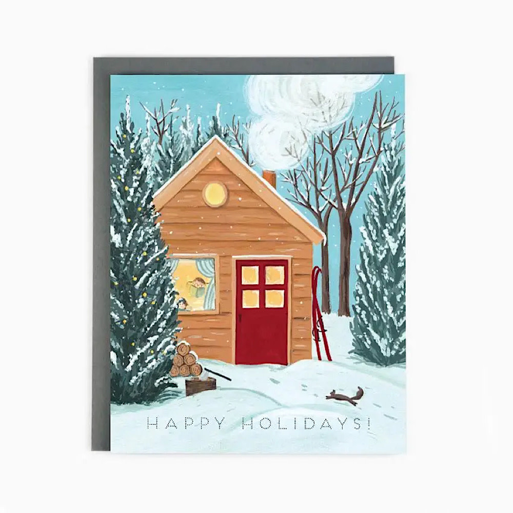 The Paperhood Card - Holiday Cottage