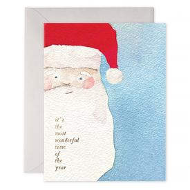 E Frances Paper E Frances Vintage Santa Card