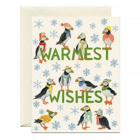 Yeppie Paper Yeppie Paper Puffins Holiday Card