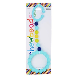 Chewbeads Chewbeads Gramercy Stroller Toy Turquoise