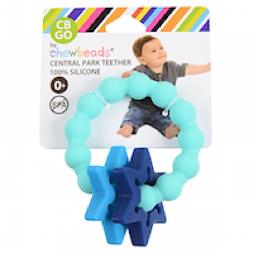 Chewbeads Chewbeads Central Park Teether - Sheriff's Badge