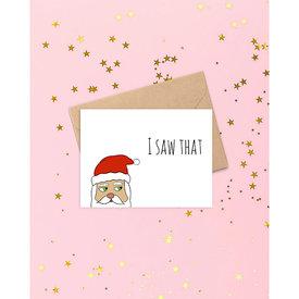 Siyo Boutique Siyo Boutique - Santa's Watching Card