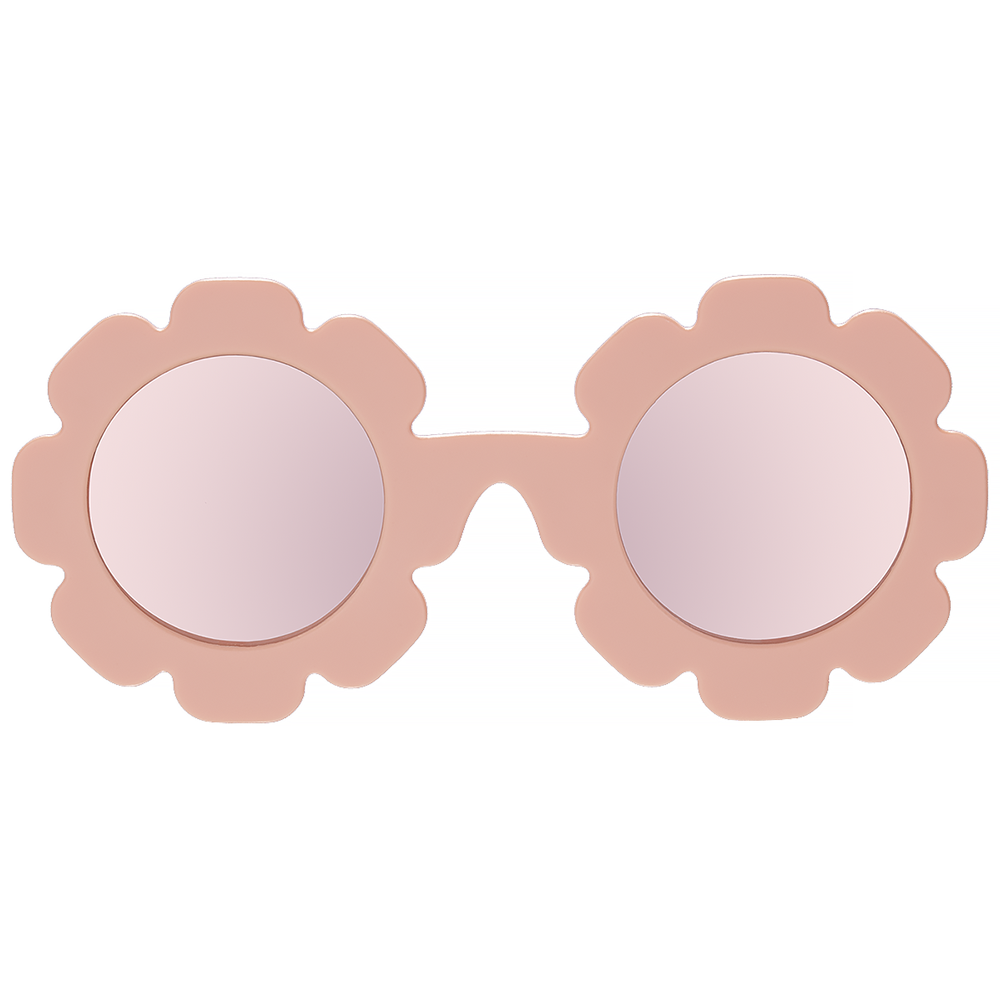 Babiators Sunglasses - The Flower Child Polarized Mirrored Lenses