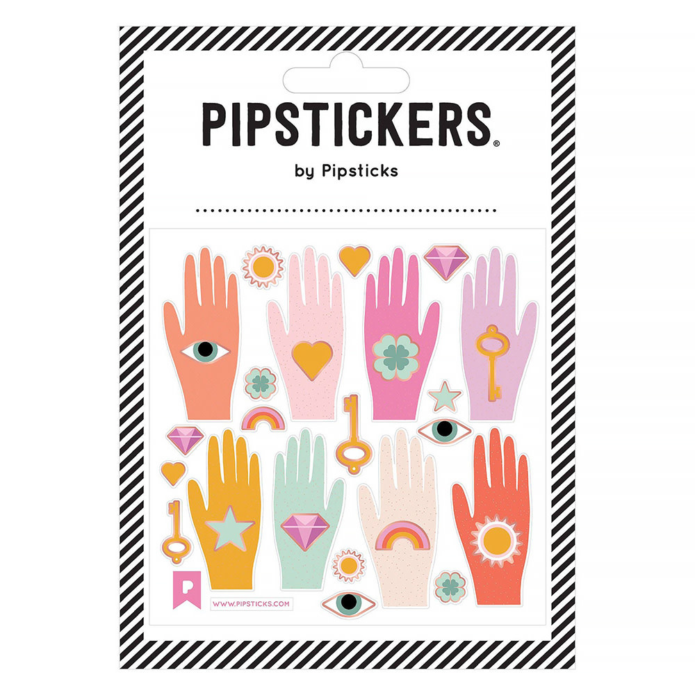 Pipsticks Hold The Future Stickers