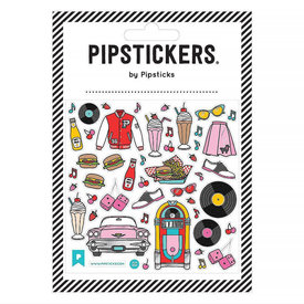 Pipsticks Nifty 50s Diner Stickers