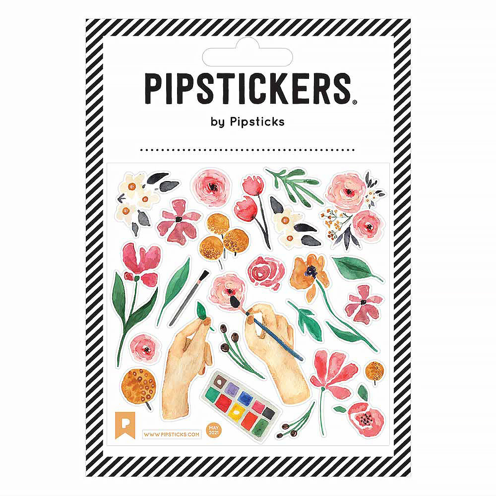 Painted Petals Stickers