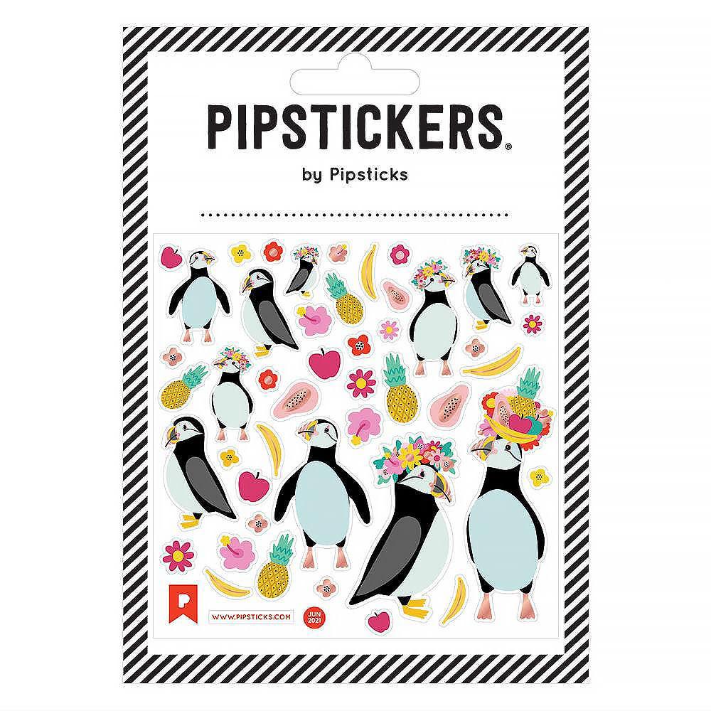 Pipsticks Tutti Frutti Puffins Stickers