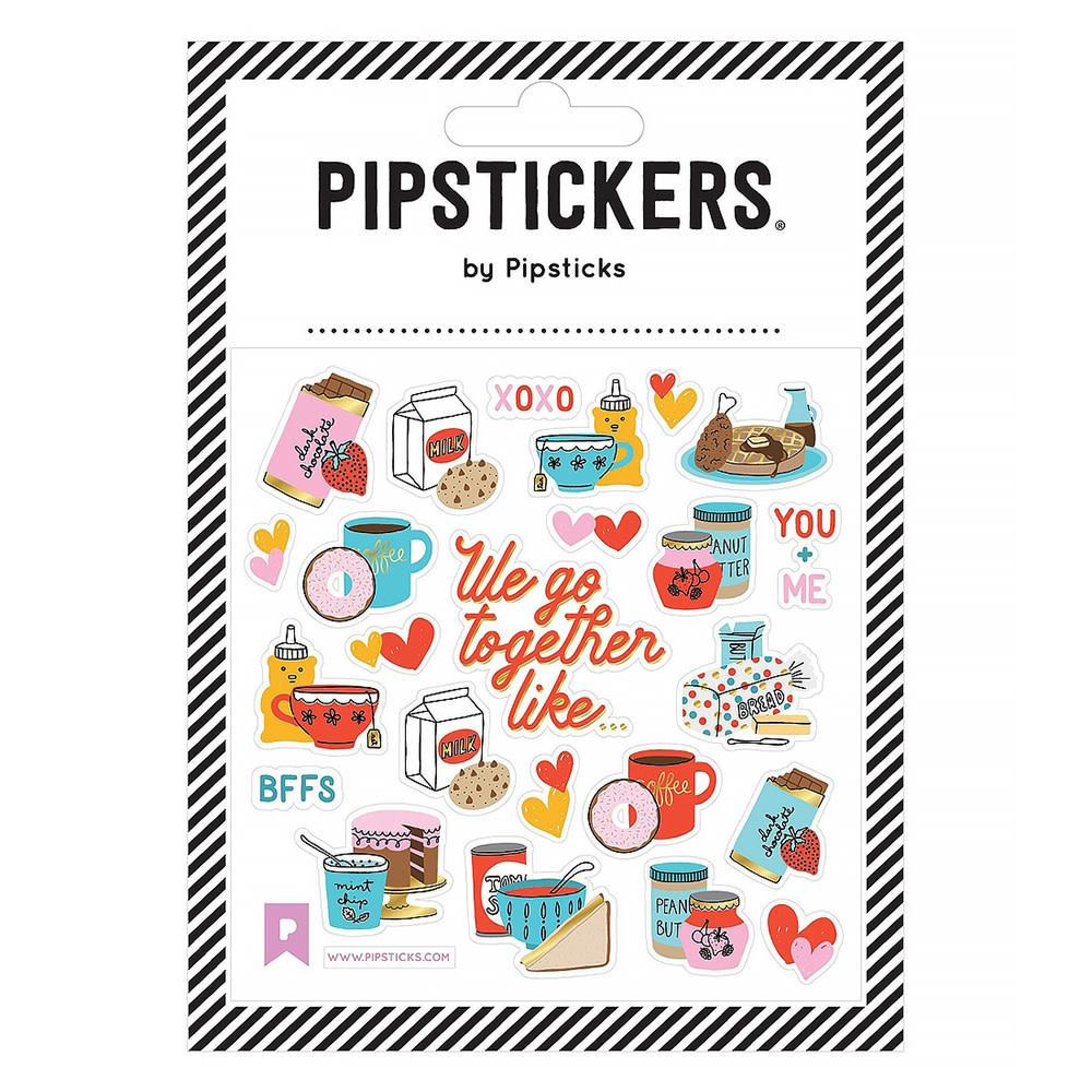 Pipsticks We Go Together Stickers