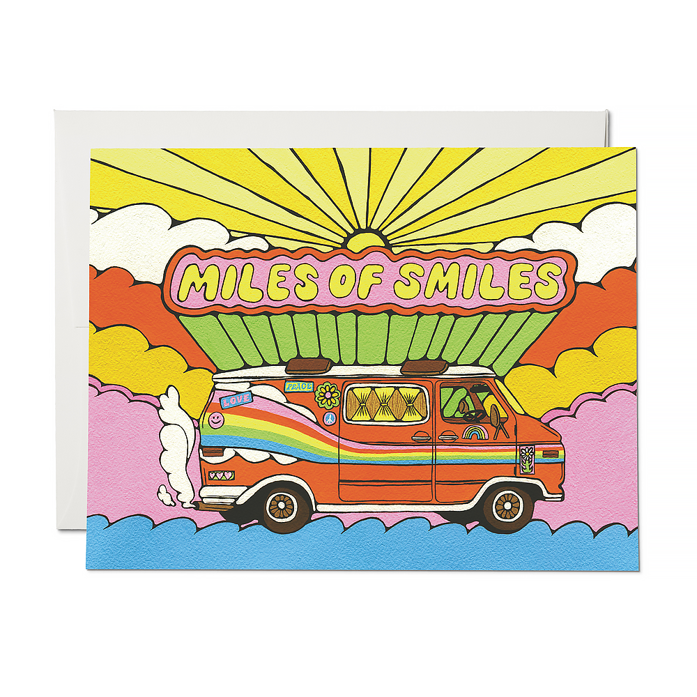 Red Cap Cards - Miles of Smiles