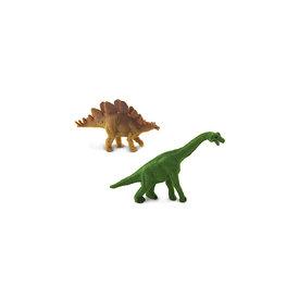 Safari Ltd Good Luck Minis - Brachiosaurus & Stegosaurus