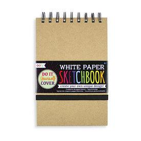 Ooly DIY Sketchbook - Medium - White