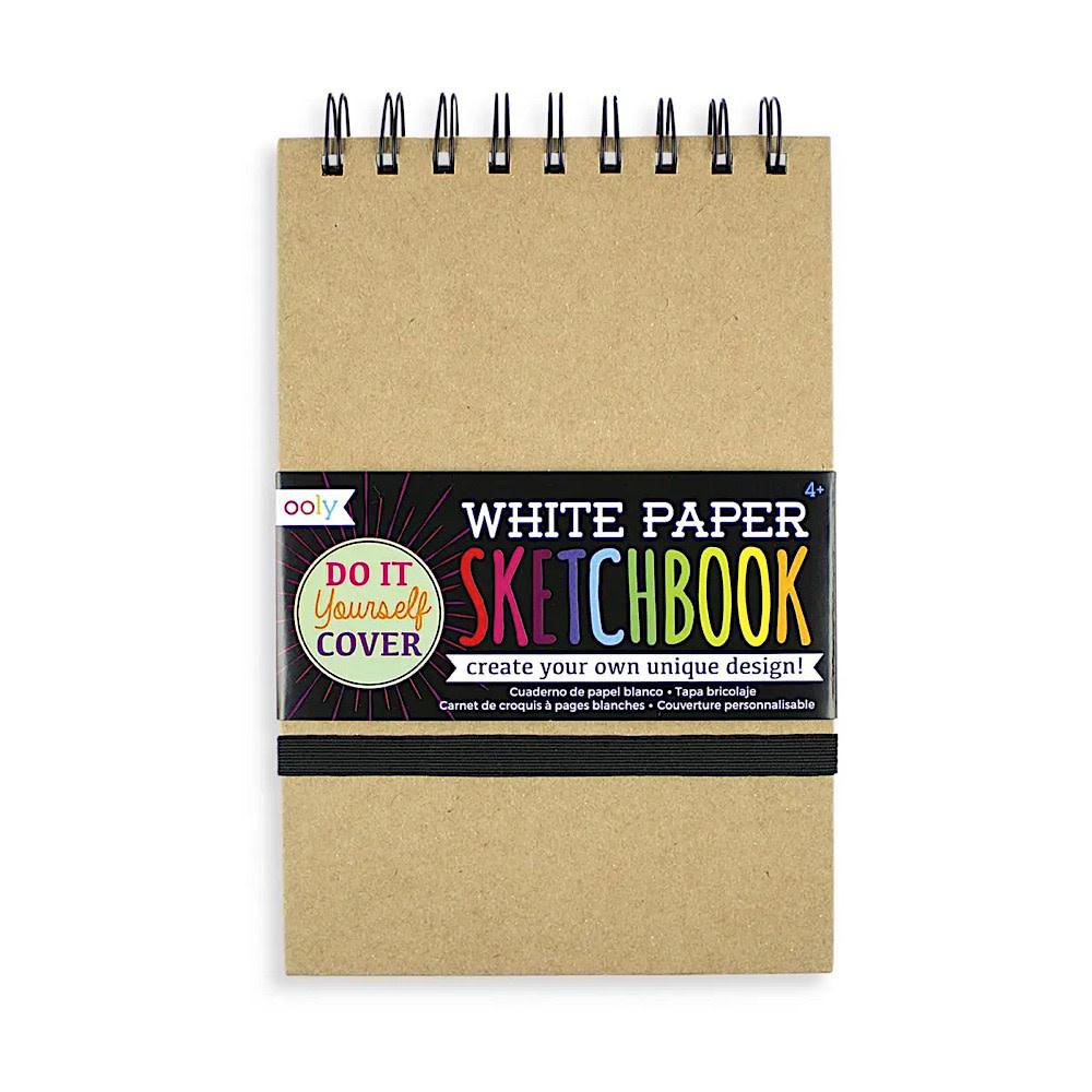 DIY Sketchbook - Medium - White