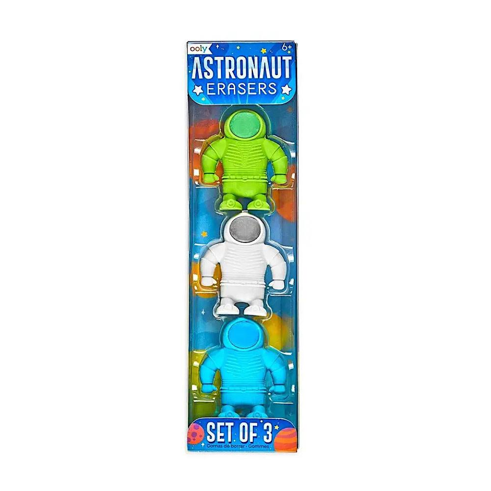 Astronaut Erasers Set