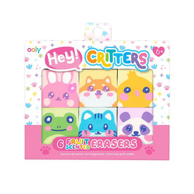 Ooly Hey Critters! Scented Erasers Set