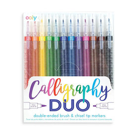 Ooly Calligraphy Duo Double Ended Markers Set