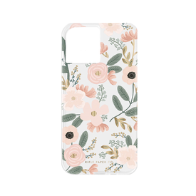 Rifle Paper Co. Rifle Paper Co. iPhone 12Mini Case - Clear Wildflowers