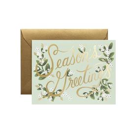 Rifle Paper Co. Rifle Paper Co. Boxed Set of Mistletoe Season's Greetings Cards