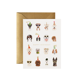 Rifle Paper Co. Rifle Paper Co. Card - Party Pups