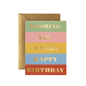 Rifle Paper Co. Rifle Paper Co. Card - Birthday Wishes