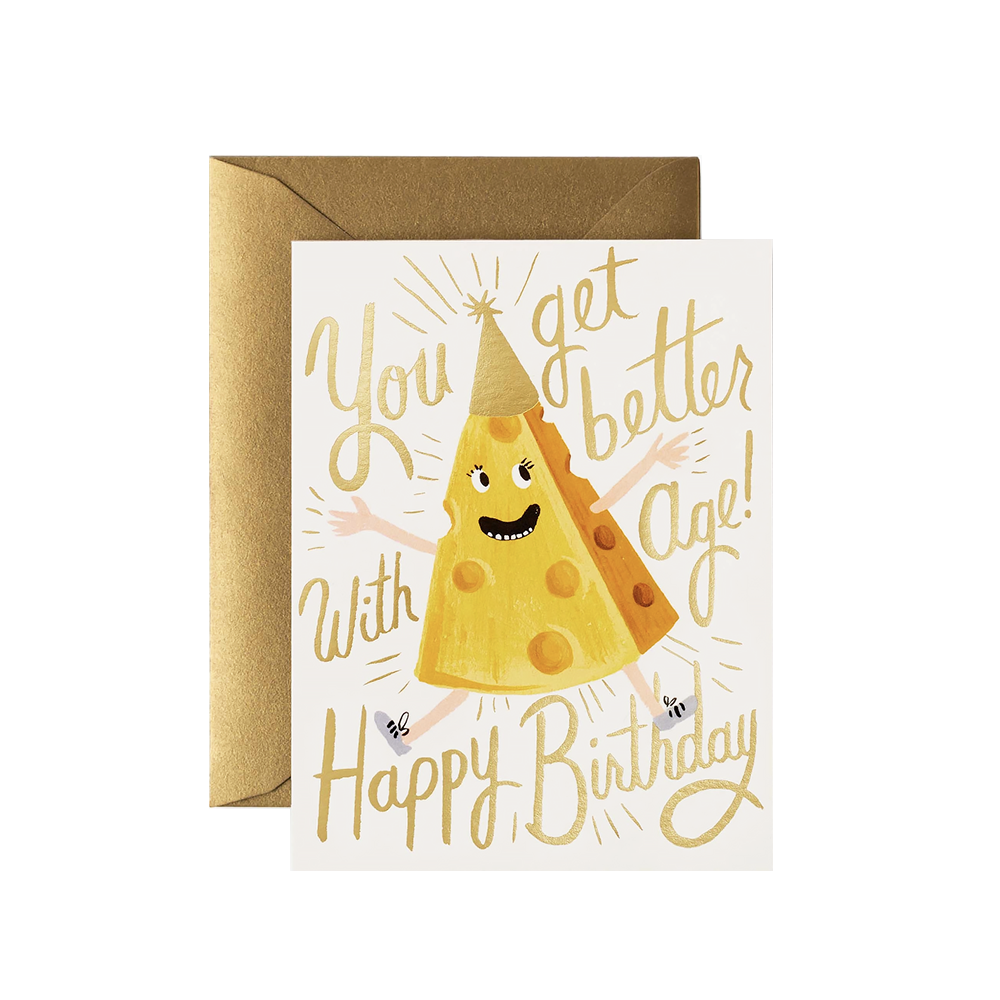 Rifle Paper Co. Rifle Paper Co. Card - Better With Age