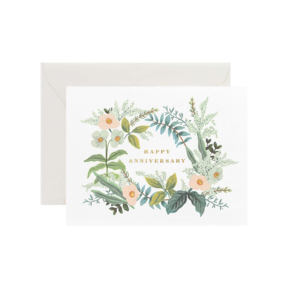 Rifle Paper Co. Rifle Paper Co. Card - Anniversary Bouquet