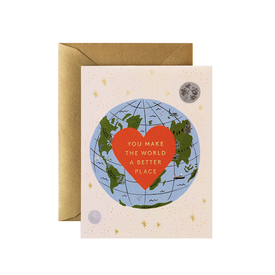Rifle Paper Co. Rifle Paper Co. Card - You Make the World Better