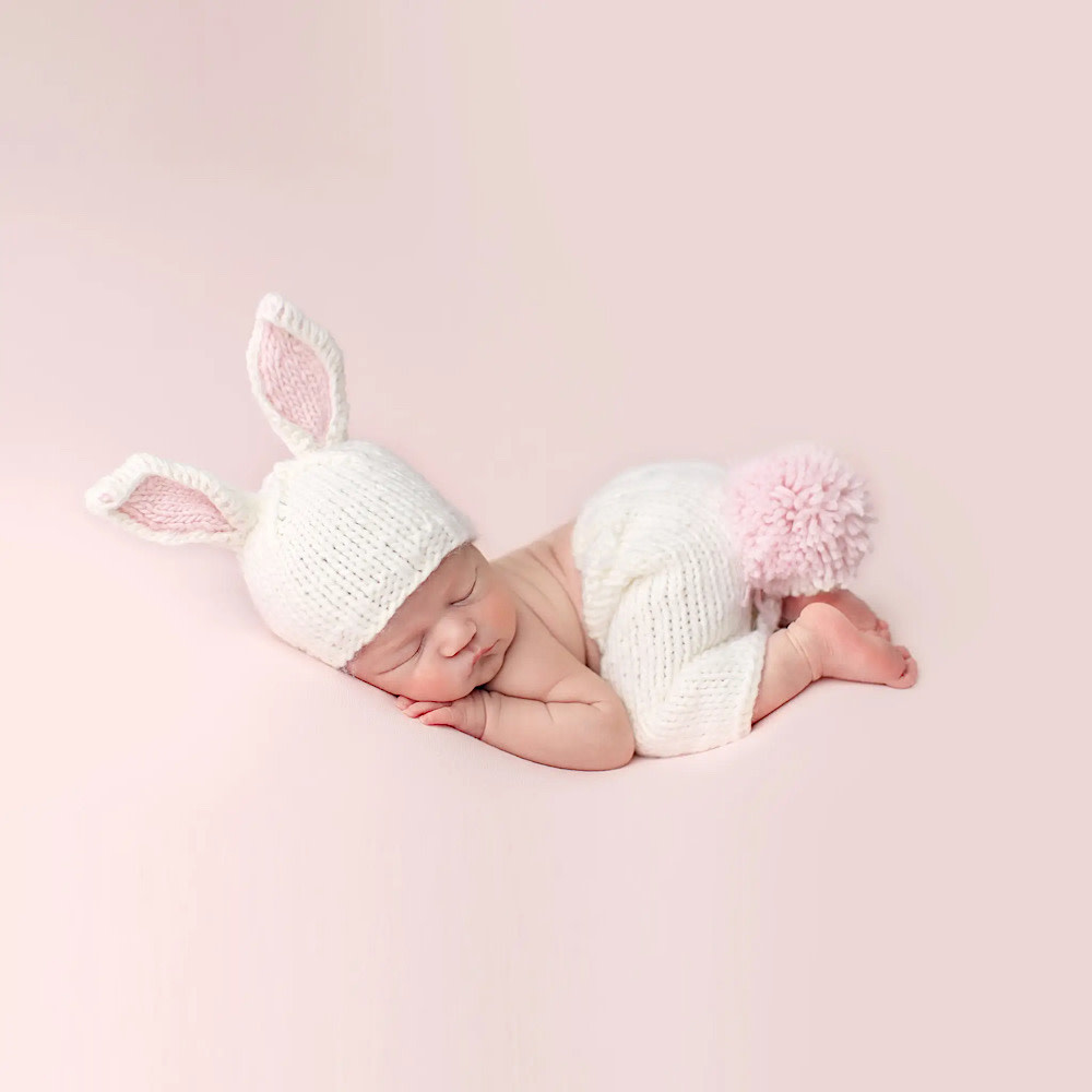 The Blueberry Hill Baby Outfit Set Bailey Bunny NB