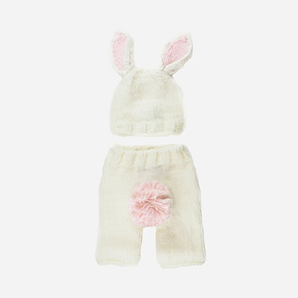 The Blueberry Hill The Blueberry Hill Baby Outfit Set Bailey Bunny NB