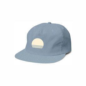 Tiny Whales Tiny Whales Sol Snap Back Hat - Blue Corduroy